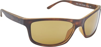 Arnette AN_4192_PPBRNBRN Rectangular Sunglasses(Brown)