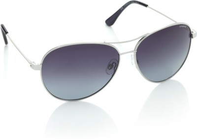 Polaroid P4329B Aviator Sunglasses(Blue, Violet)