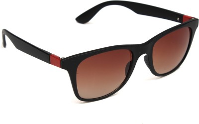 6by6 SG1118 Wayfarer Sunglasses(Brown)