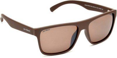 Joe Black JB-815-C3 Wayfarer Sunglasses(Brown)