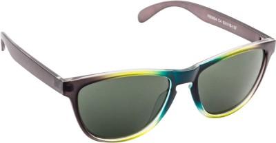 Funky Boys 3004-C4 Wayfarer Sunglasses(Green)