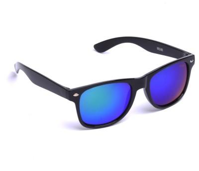 Beqube BG001 Wayfarer Sunglasses(Blue)