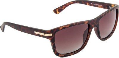 Farenheit FA-1145P-C3-New Wayfarer Sunglasses(Brown)