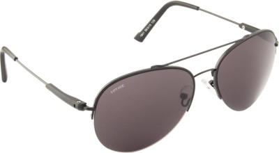 Voyage 1841MG1078 Aviator Sunglasses(Black)
