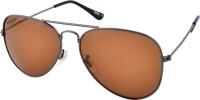Creed CR-777-C28 Aviator Sunglasses(Brown)