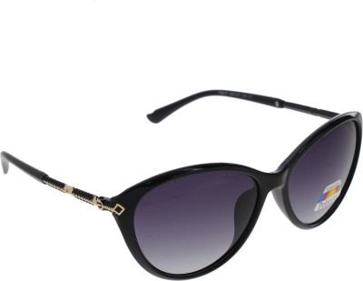 Vast WOMENS _POLO_8605_BLACK Cat-eye Sunglasses(Grey)