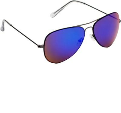 6by6 SG1483 Aviator Sunglasses(Blue)