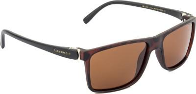 Farenheit FA-2205-C3 Wayfarer Sunglasses(Brown)
