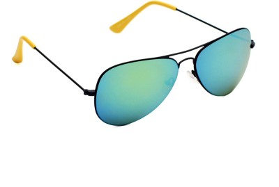 6by6 SG1489 Aviator Sunglasses(Green)