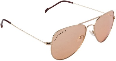 Farenheit FA-FA3001-c7 Wayfarer Sunglasses(Brown)