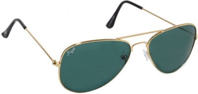 Floyd 3026_GOLD_FOREST_GRN Aviator Sunglasses(Green)
