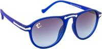 Clark N Palmer CNP-RB-634 Aviator Sunglasses(Blue)