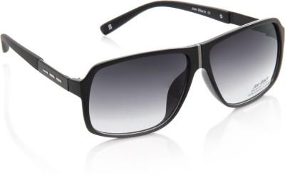 Joe Black JB-596-C4 Rectangular Sunglasses(Blue)