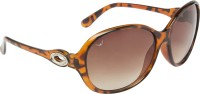NOD NOD-SG-SET2-0770 Oval Sunglasses(Brown)