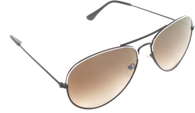 6by6 SG330 Aviator Sunglasses(Brown)