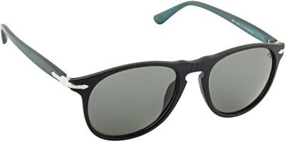 Farenheit 1328P Wayfarer Sunglasses(Green)