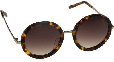 Mango Pickles RO-5006-Demi Round Sunglasses(Brown)