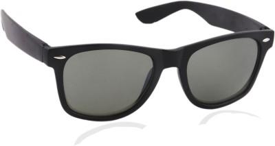 Joe Black JB-032-C3 53 Wayfarer Sunglasses(Green)