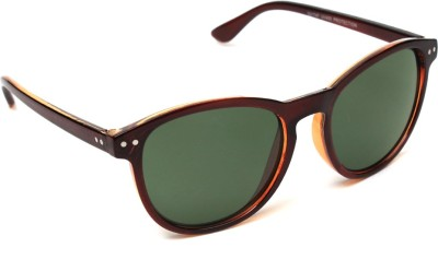 6by6 SG1041 Cat-eye Sunglasses(Green)