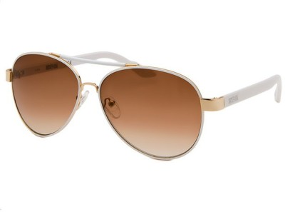 Kenneth Cole KC1233@6024F Aviator Sunglasses(Brown)