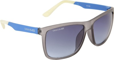 Danny Daze D-3211-C4 Wayfarer Sunglasses(Black)