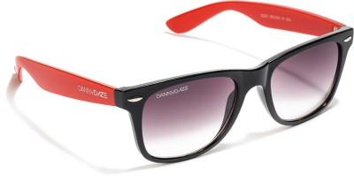 Danny Daze D-1704-C10 Wayfarer Sunglasses(Black)