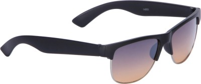 Vast CM_RECTANGLE_BLACK_BROWN Wayfarer Sunglasses(Brown)