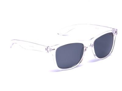 Beqube TB001 Wayfarer Sunglasses(Black)