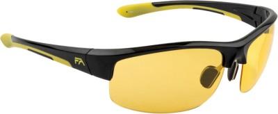 Farenheit FA-1352P-C1 Sports Sunglasses(Yellow) at flipkart