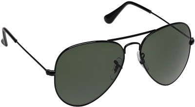 BKD RB3025 Aviator Sunglasses(Green) at flipkart