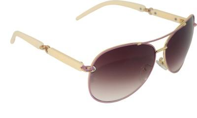 Brunette Oval Sunglasses