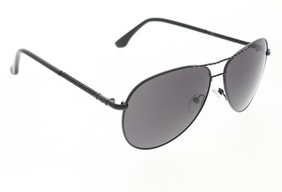 Vast 1831_men_women_black_grey_gun_aviator Aviator Sunglasses(Grey)