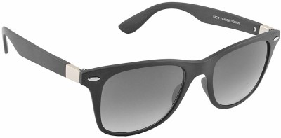 IRAYZ 1206 Wayfarer Sunglasses(Grey)