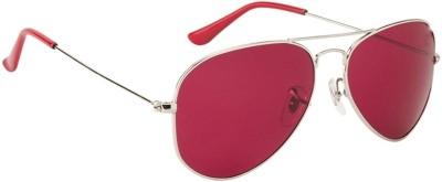 Suiss Blanc AVSLVRRED Aviator Sunglasses