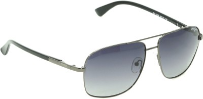 IMAGE IM-541-C3P Rectangular Sunglasses(Black)