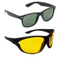 Hrinkar HCMB278_1 Wayfarer Sunglasses(For Boys)