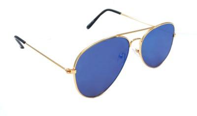 Sellebrity Elegant Classic Gold Aviator Sunglasses Aviator Sunglasses