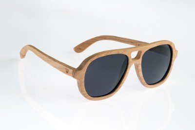 WOOD WORKS INC. Cascade Aviator Sunglasses