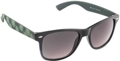 Farenheit 1210-C1 Wayfarer Sunglasses(Green)