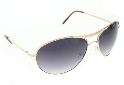 Vast 41101_aviator_grey_brown Aviator Sunglasses(Grey)