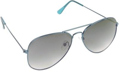 6by6 SG248 Aviator Sunglasses(Black)
