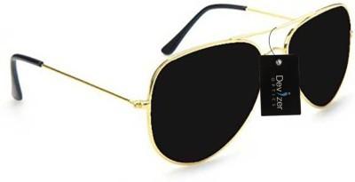 Devizer Optics Devizer Optics Black INK Stylish Aviator Devizer Aviator Sunglasses