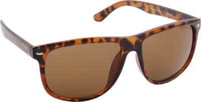 Farenheit 922-C4 Wayfarer Sunglasses(Brown)