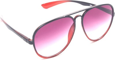 6by6 SG493 Aviator Sunglasses(Pink)
