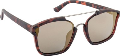 Farenheit SOC-FA-1376P-C4 Spectacle Sunglasses(Golden)