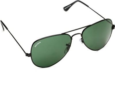Escobar 911-Black Aviator Sunglasses