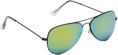 6by6 SG1490 Aviator Sunglasses(Green)