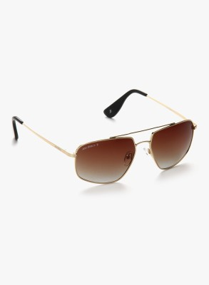 Joe Black JB-752-C1P Rectangular Sunglasses(Brown)