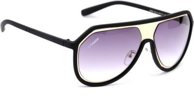 Amaze AM0951 Oval Sunglasses(Black)