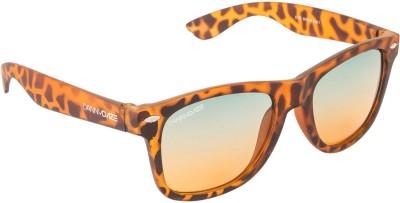 Danny Daze D-801-C8 Wayfarer Sunglasses(Green)